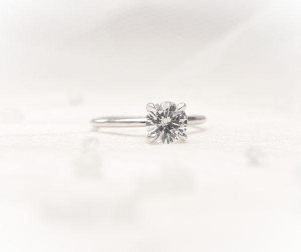 Solitaire engagement ring - Sterling Heights and Shelby Township