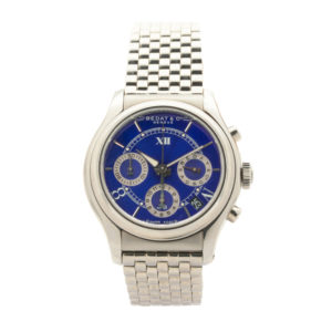Men's Bedat & Co. No. 8 Chronograph Automatic Swiss Stainless Steel Wrist Watch