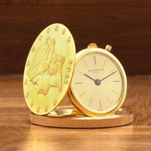 Vacheron Constantin 18kt Yellow Gold 20 Dollar Liberty Coin Swiss Manual Wind Watch