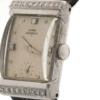 Vintage Girard Perregaux Swiss 86 AE 114 14kt White Gold Diamond Wrist Watch