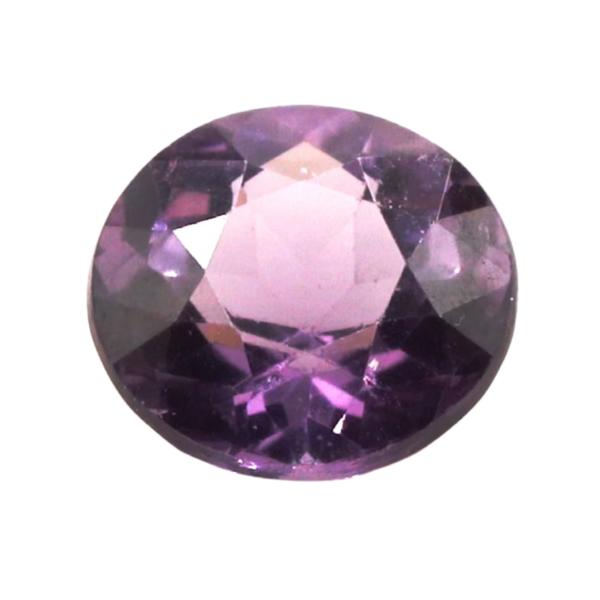 6.8mmx4.1mm Round Purple Spinel