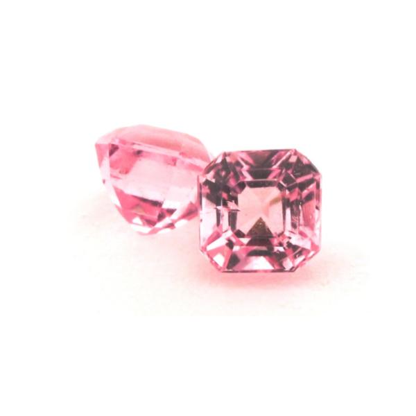 4.7mm Ascher Pink Tourmaline Studs