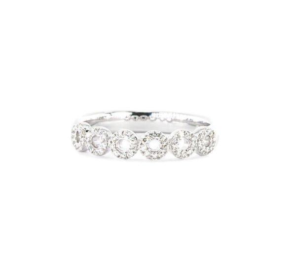 3MM Diamond Stacking Ring Band