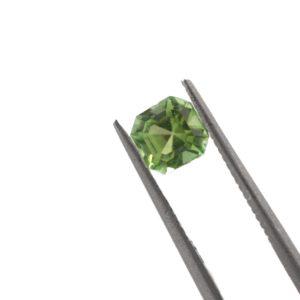 5.00mmx4.0mm Green Tourmaline
