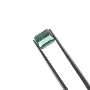 6.0mm x 5.5mm x 3.6mm Blue Tourmaline