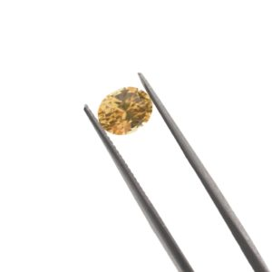 6.6mmx5.4mmx5.2mm Oval Yellow Spinel