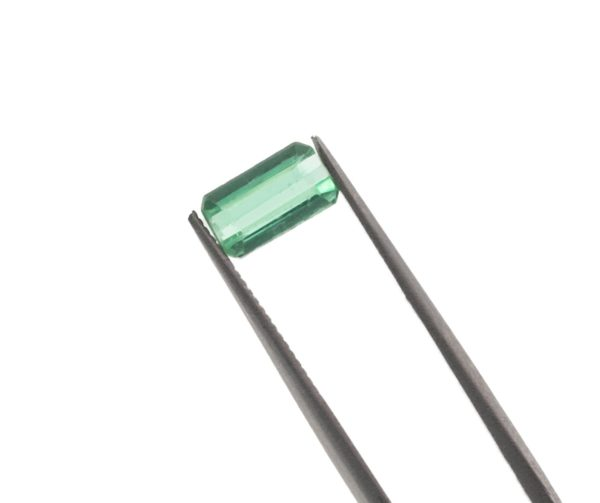 7.8mmx4.4mmx3.3mm Blue Green Tourmaline