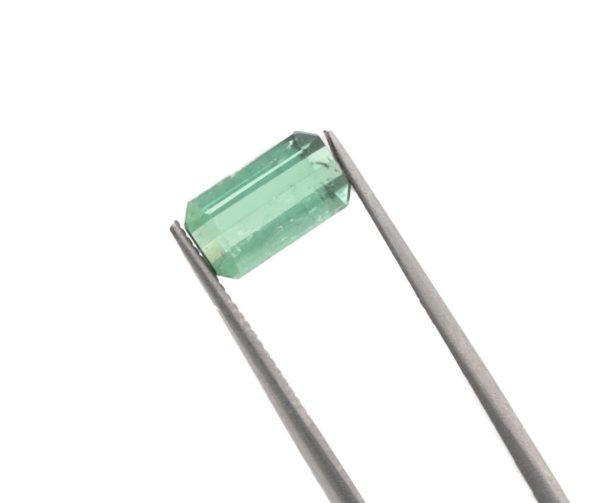 9.3mmx5.3mmx4.0mm Blue-Green Tourmaline