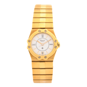 Ladies Chopard St. Mortiz Geneve 25-5156 18kt Yellow Gold Swiss Quartz Wrist Watch