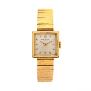 Ladies Vintage Patek Philippe 3285/23 18kt Yellow Gold Swiss Manual Wind Wrist Watch