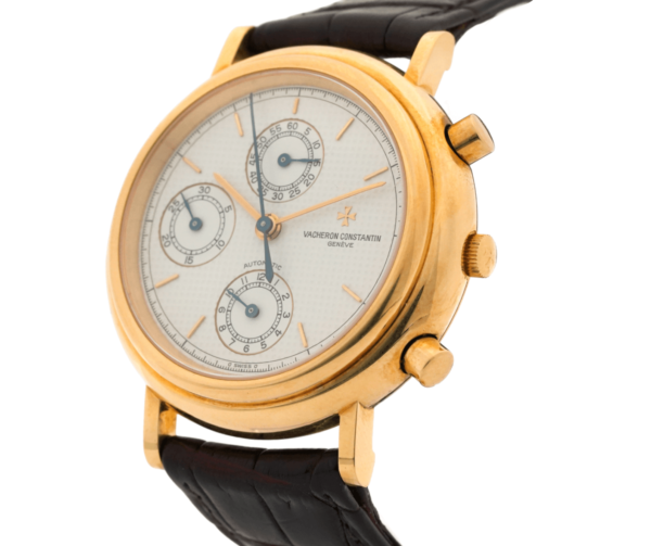 Men's Vacheron Constantin 47001 Chronograph Swiss 18kt Yellow Gold Wrist Watch