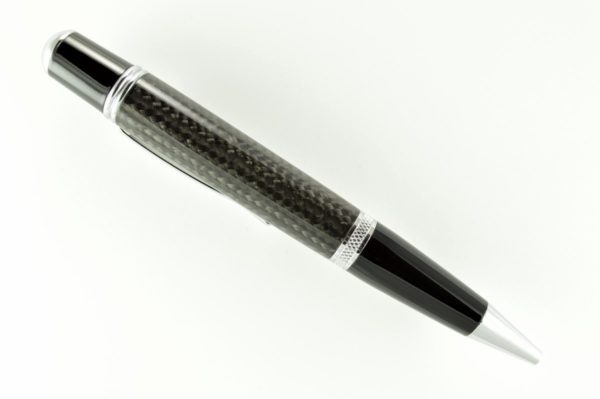 Opus Mechan Carbon Fiber Full Size Ballpoint Pen
