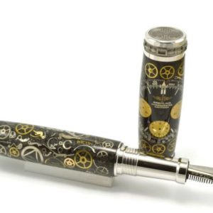 Opus Mechan Chrono Collection Breitling Chronograph Full Size Watch Parts Pen