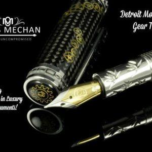 Opus Mechan Detroit Motor City Gear Train Pen