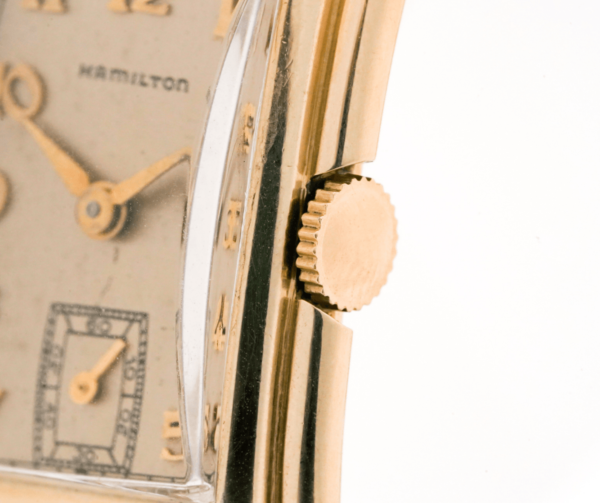 Vintage Hamilton Sutton 982 Manual Wind 14kt Yellow Gold-Filled Art Deco Wrist Watch