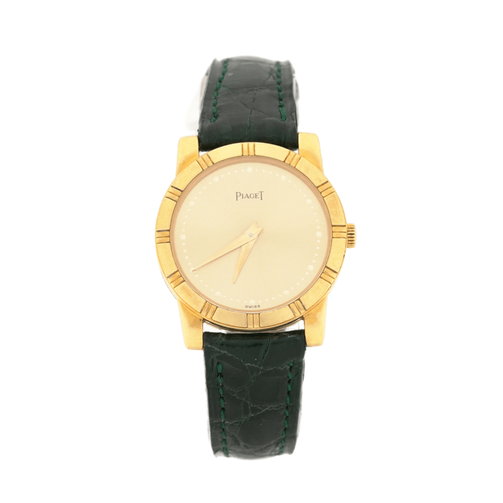 Women's Piaget Classic 80463 Swiss Quartz 18kt Yellow Gold Wrist Watch