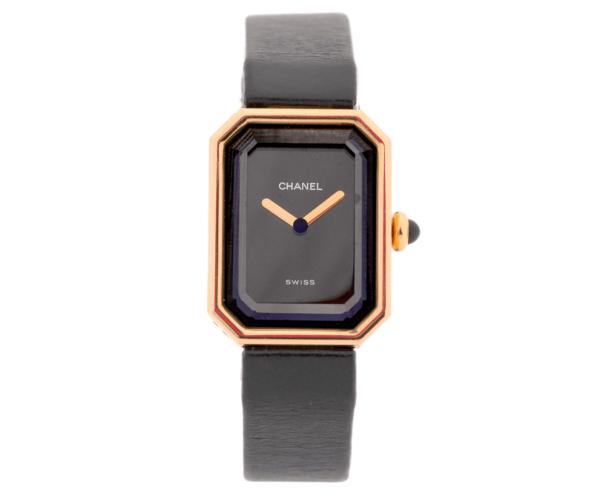 Women's Vintage Chanel Premier 18kt Yellow Gold 27mm x 20mm Swiss Quartz Wrist Watch