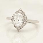 Solari & Co engagement ring halo